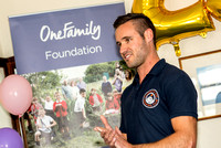 Exmouth Gig Rowing Club receive an award of £25,000 from the OneFamily Foundation  to fund a new cornish gig.