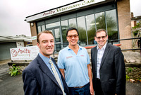 Vet Lennon Foo has opened a new practice in Newton Abbot with the support of Lloyds Bank.