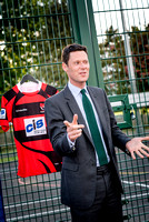 The Midcounties Co-operative Cheltenham regional community partner, Newlands Park unveiled their new multi-use game area with the help of Cheltenham Parliamentary Candidate Steve Chalk.