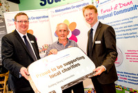 The Midcounties Co-operative hosted an event to honour local groups who have received grants of up to £2000.