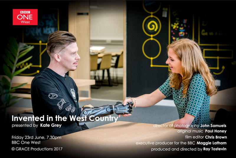 Grace Productions - Invented in The West Country. Presented by Kate Grey