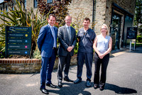 Lostwithiel Dental Surgery has expanded into a neighbouring property with the support of Lloyds Bank.