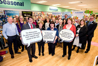 The Mid-Counties Co-operative hosted an event at their Coleford store to honour local groups who have received grants of up to £2000 along with recipients of carrier bag money raised in store.